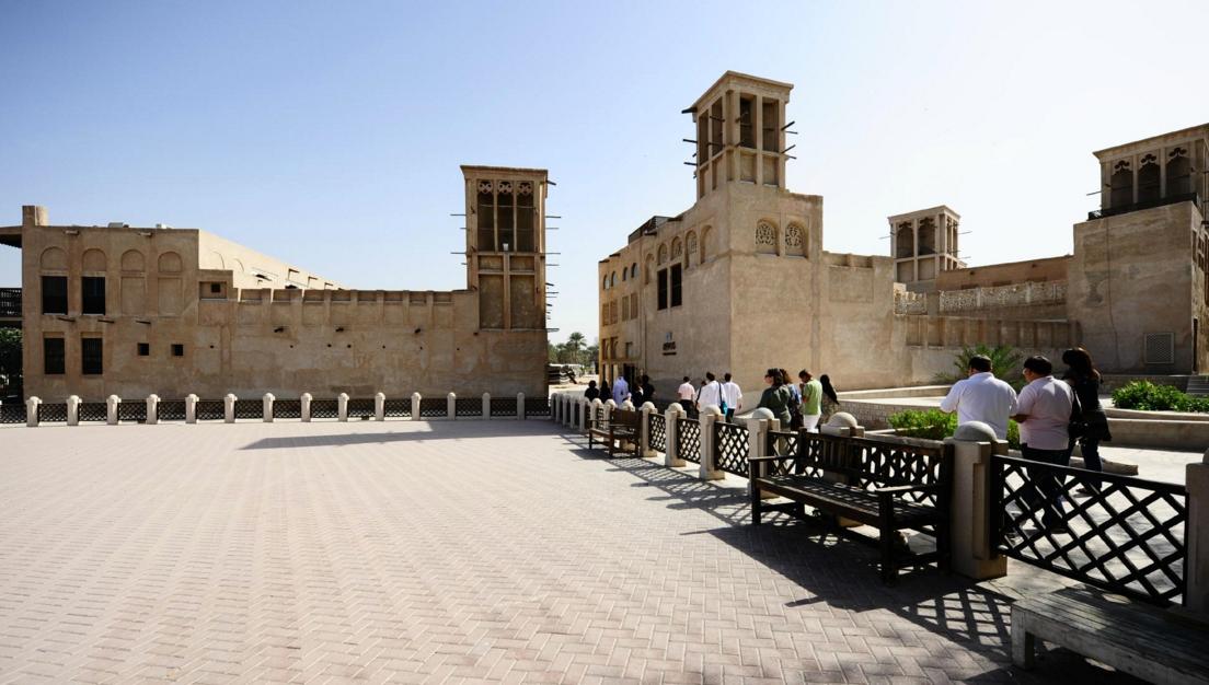 Bastakia Old Dubai | Top places to Visit in Dubai