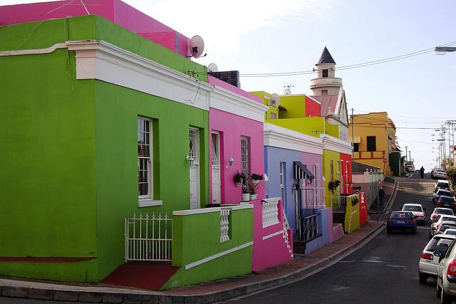 Bo Kaap, Cape Town, Afrika e Jugut