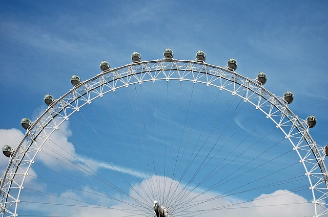 Dubai Eye Ferris Wheel - Bluewaters Island Miracle Garden Dubai | Top places to Visit in Dubai