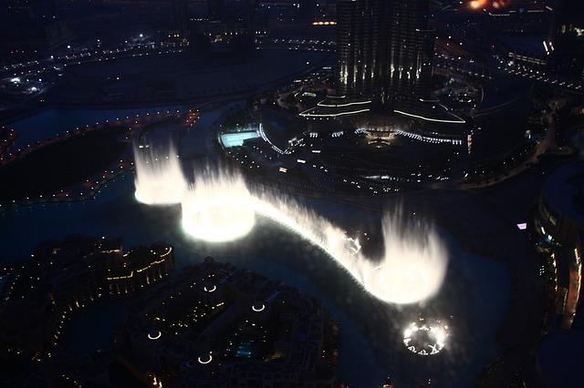 Dubai Fountains | Top places to Visit in Dubai