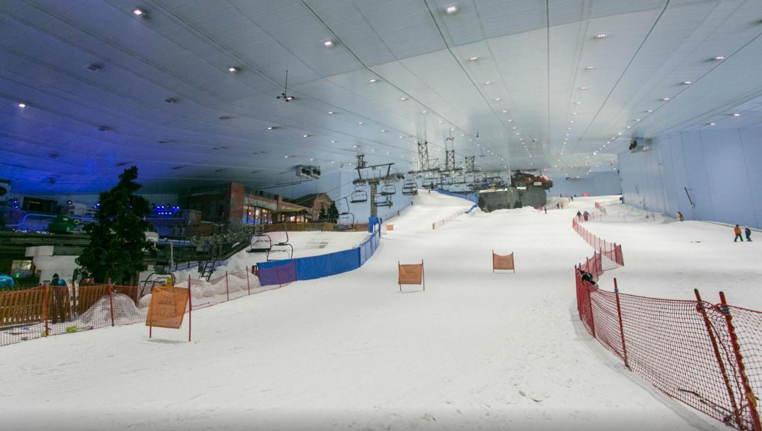 Indoor Ski Park Dubai | Top places to Visit in Dubai