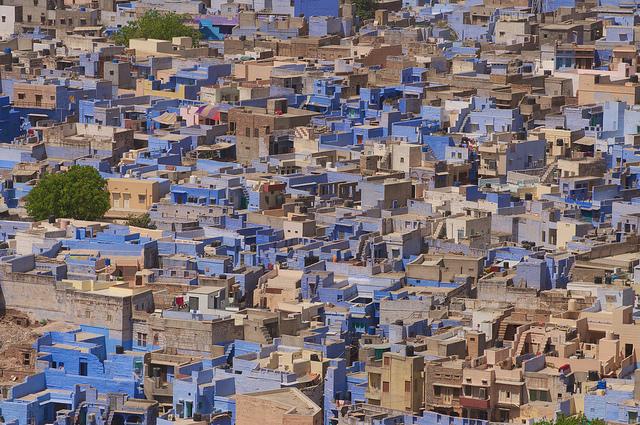 Jodhpur Rajasthan India - Blue qytetit