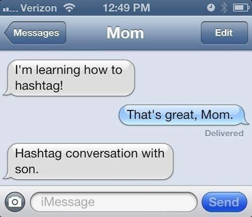 Hashtag Conversation | Funniest Text Messages between Parents and Children