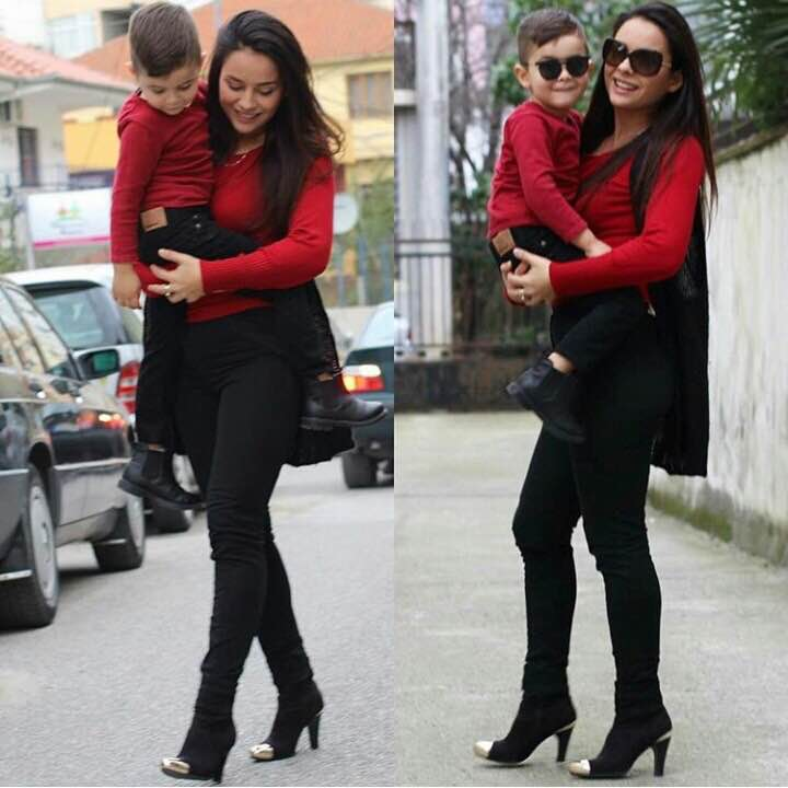 Cute Mother Son Outfit Ideas 13