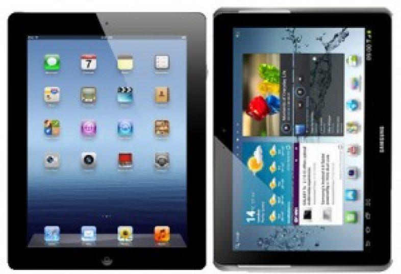 iPad 3 Vs Galaxy Tab