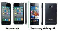 iPhone 4S Vs Galaxy Phones