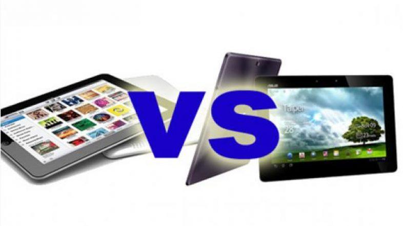 iPad vs Asus Transformer Prime