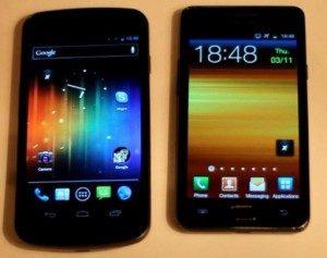 Nexus Vs Galaxy S2
