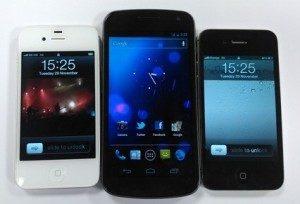 Galaxy Nexus Vs iPhone 4S
