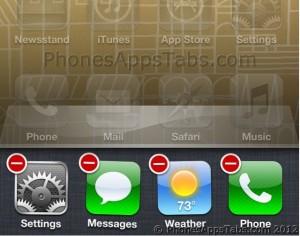 Quit Apps in Multitasking Bar
