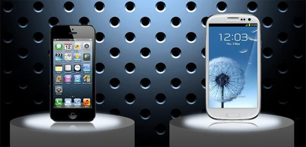 iPhone 5 vs Samsung Galaxy S3