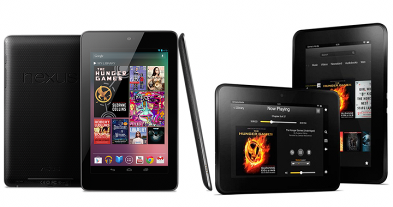 Google Nexus vs Amazon Kindle