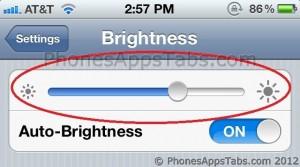 Reduce Screen Brightness