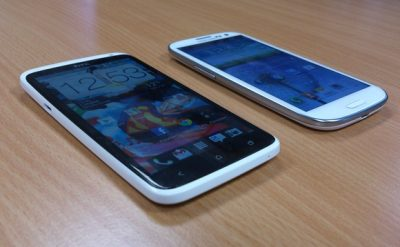 HTC one X Vs Galaxy S3 Phones