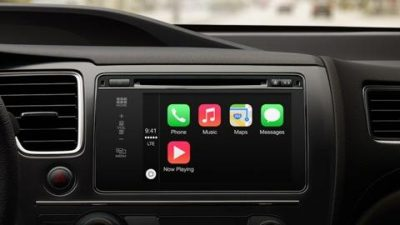 iOS AirPlay System in Car