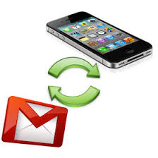Sync contacts in Gmail and iPhone