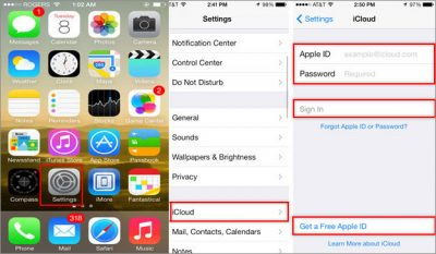 Backup & Restore iPhone Contacts to iCloud