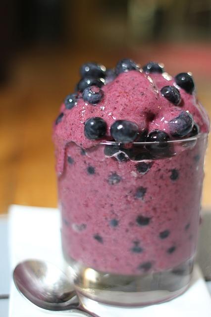 Blue Berry Banana Smoothie Recipe