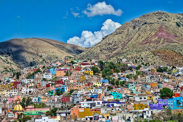 Colorful town Guanajuato – Mexico