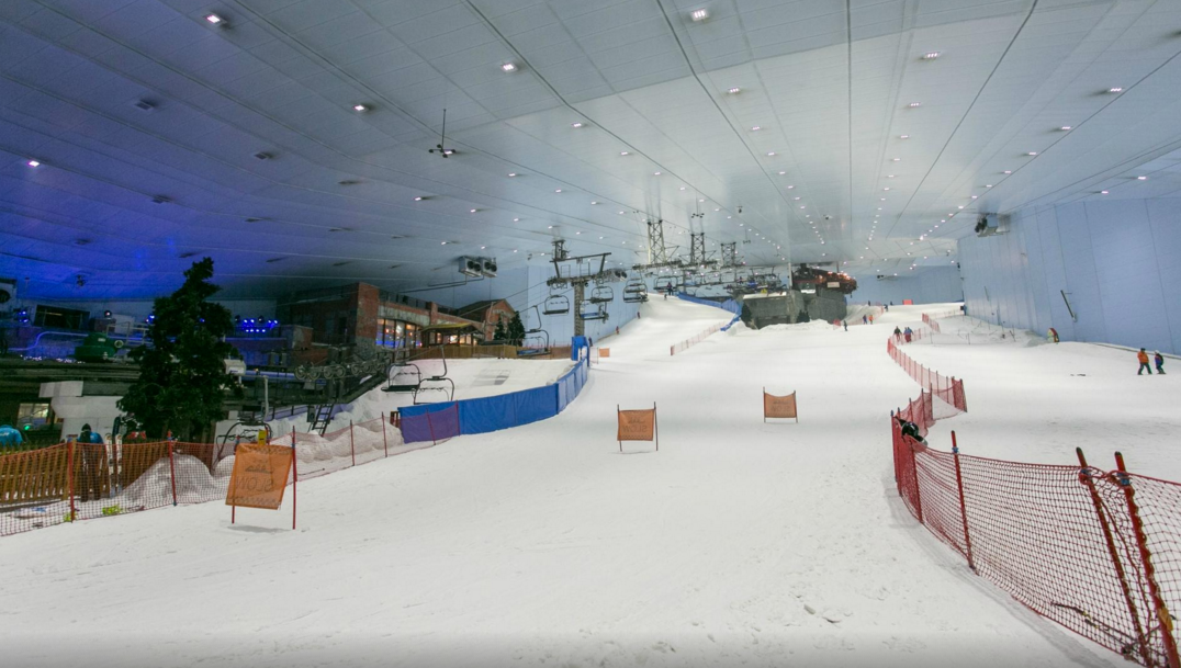 Indoor Ski Park Dubai | Top places to Visit in Dubai