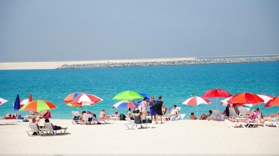 Jumeira Beach and Park Dubai | Top places to Visit in Dubai