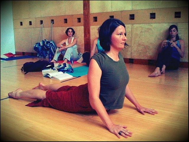 The Cobra Pose Bhujangasana - 10 yoga poses for beginners