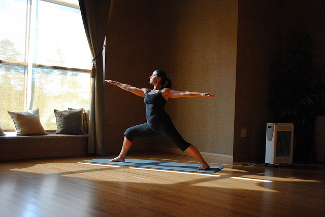The Warrior Pose Virabhadrasana |10 Excellent Yoga Poses for Beginners