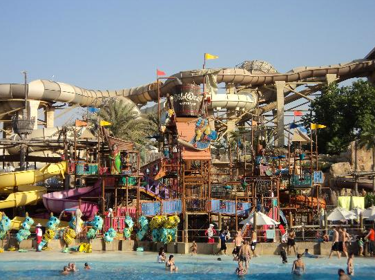 Wild Wadi Waterpark| Top places to Visit in Dubai