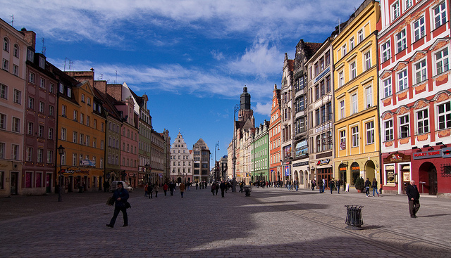 """""""City of Color"""" Wroclow, Poland"""