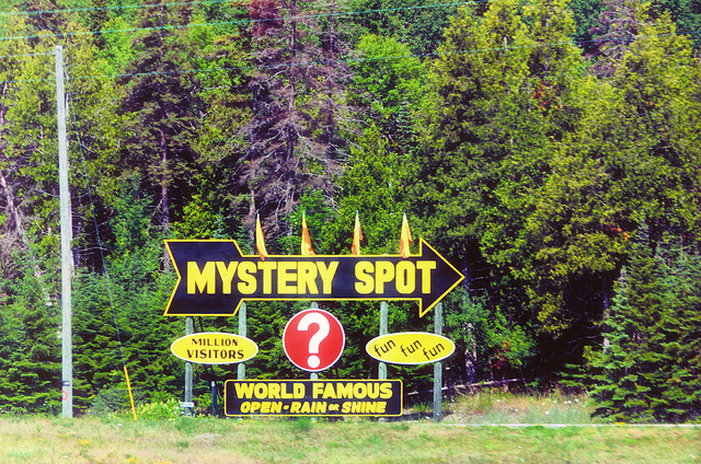 The Mystery Spot in Michigan