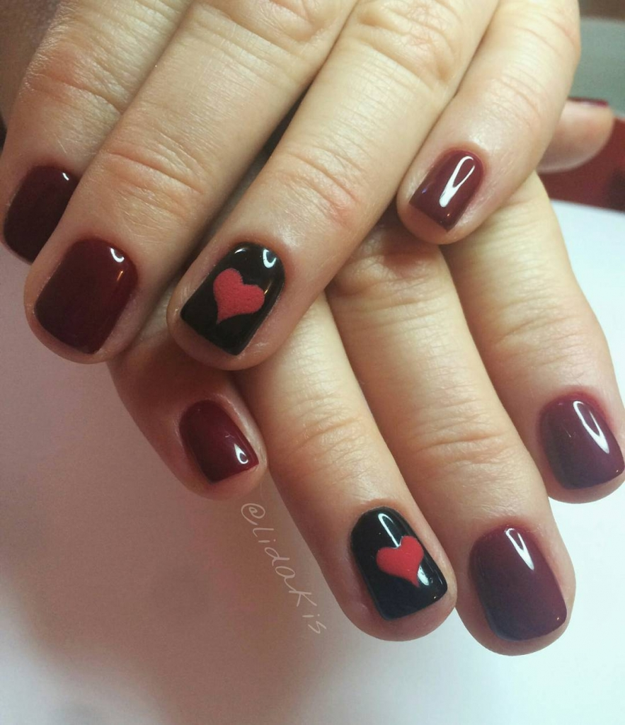 In Your Heart | Valentine's Day Nail Art Design