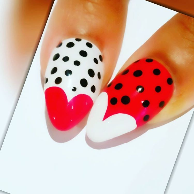Love Is In the Air | Valentine's Day Nail Art Design