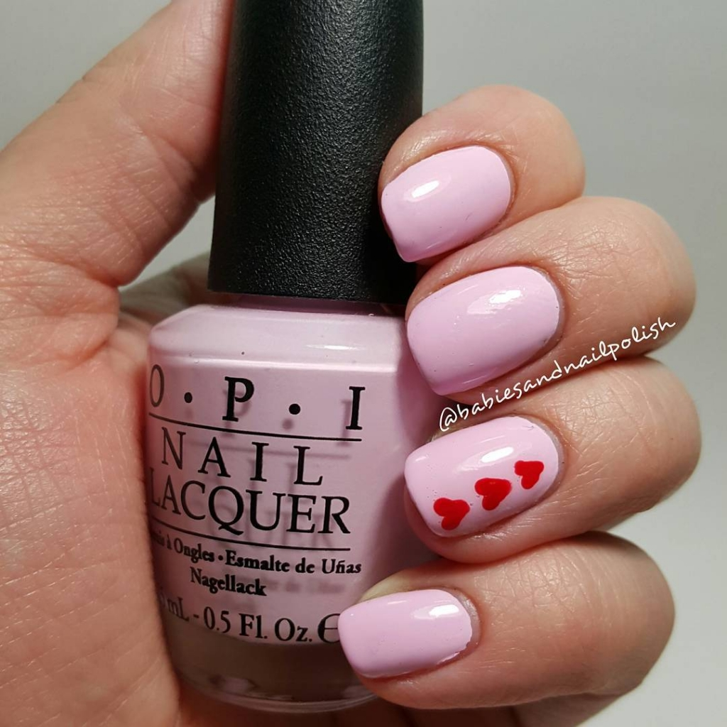 Mad About You | Valentine's Day Nail Art Design