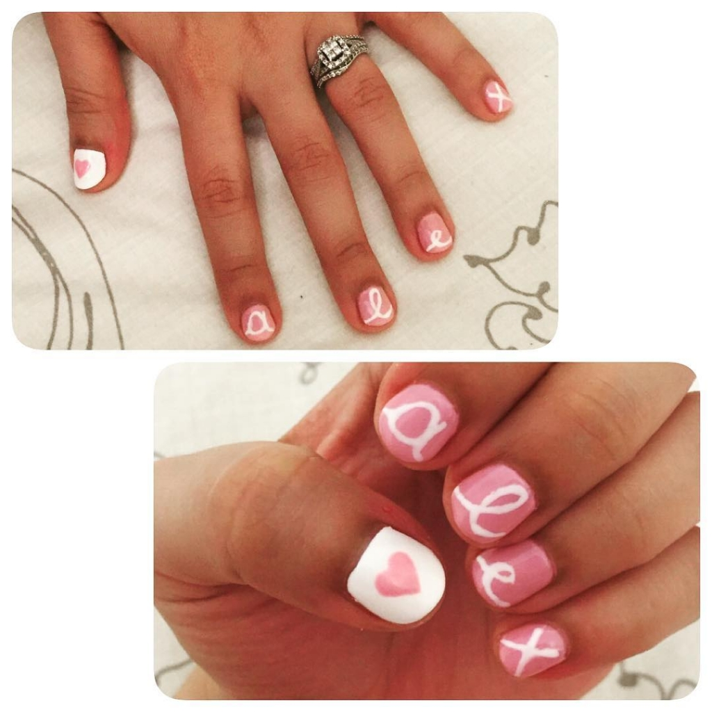 Nails With Name | Valentine's Day Nail Art Design