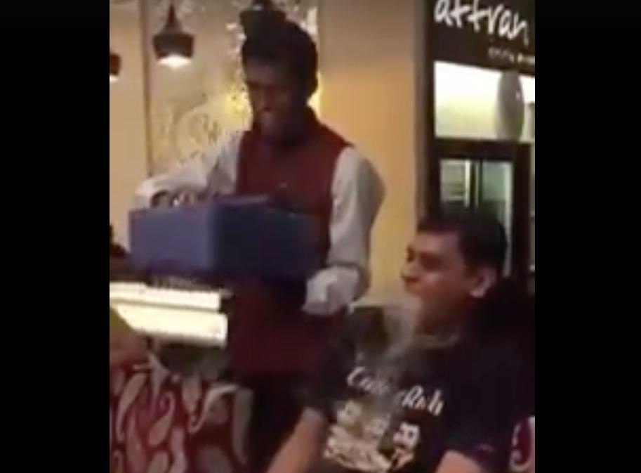 Smoking Kulfi Or Nitrogen Biscuits In Doha