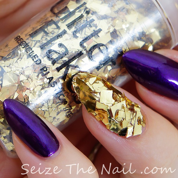 Chunky Glitters | Textured Nails