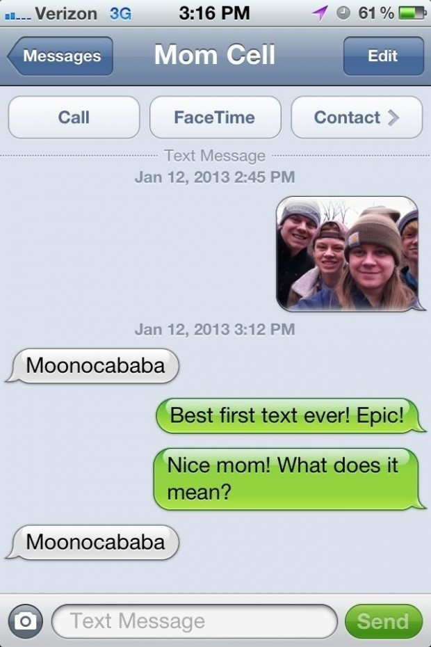 Best First Text | Hilarious Text Messages between Parents and Children