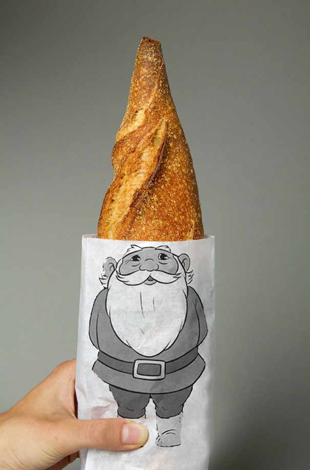 Gnome Bread Packaging