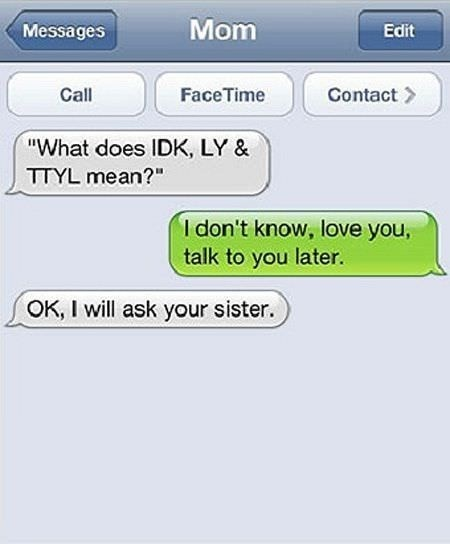 I Dont Know | Funniest Text Messages between Parents and Children