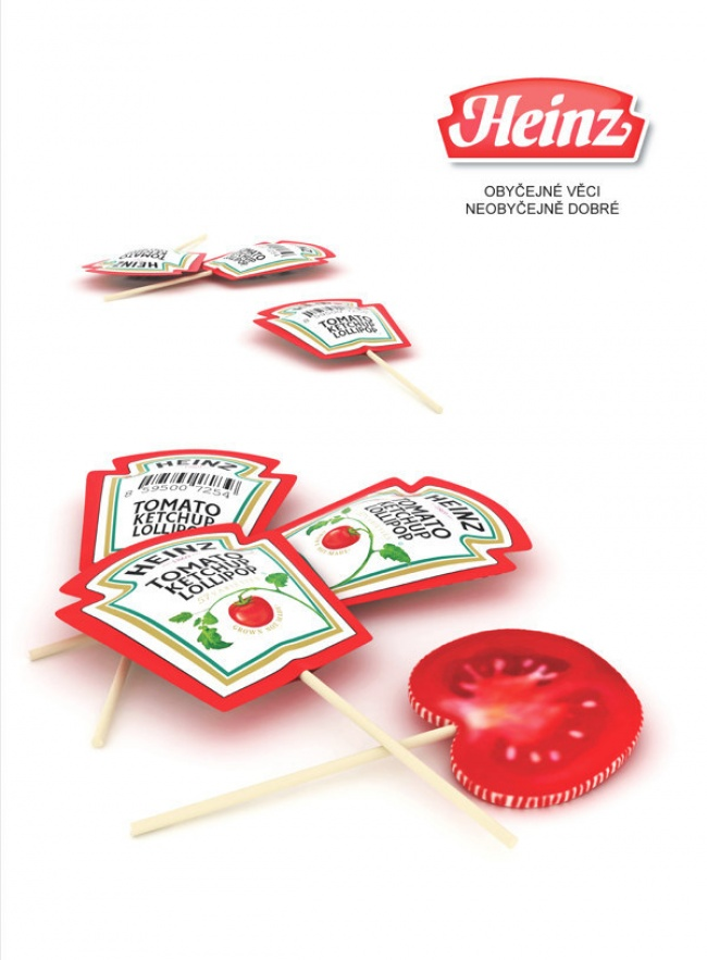 Ketchup Flavored Lollipops