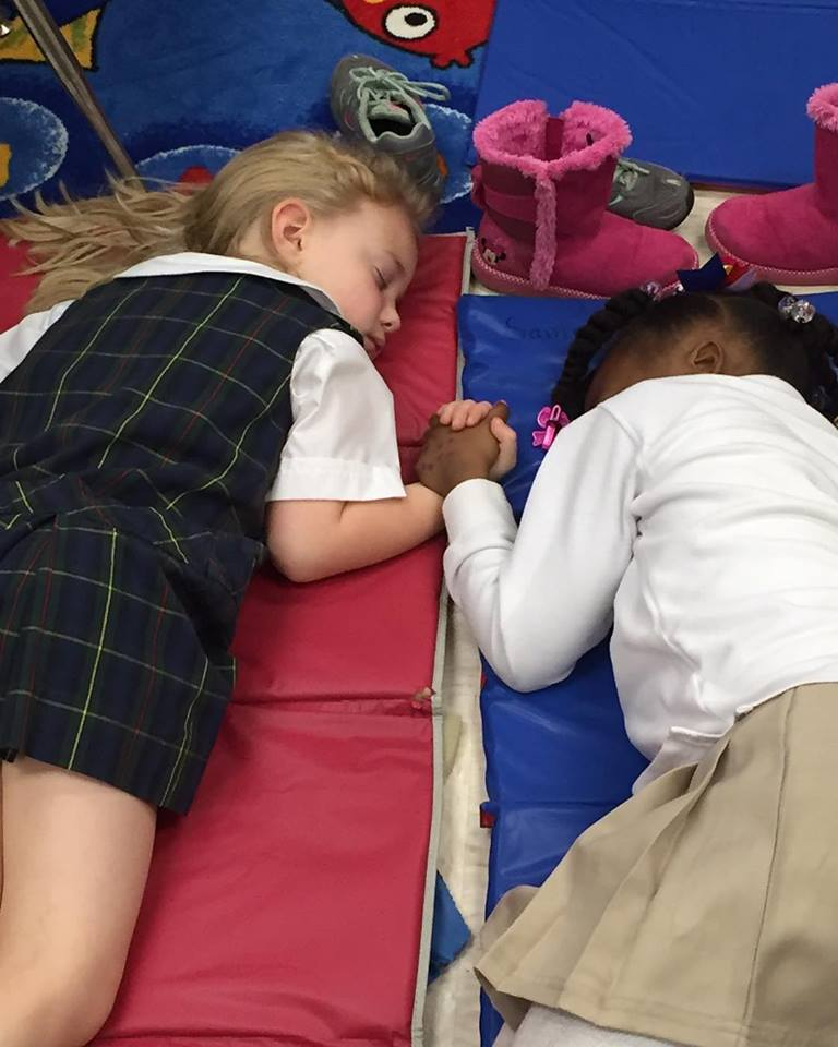 The Way These Children Are Taking Nap in School Have Touched So Many Hearts