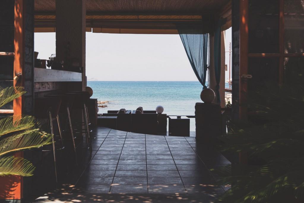 Beach Via Cupcake