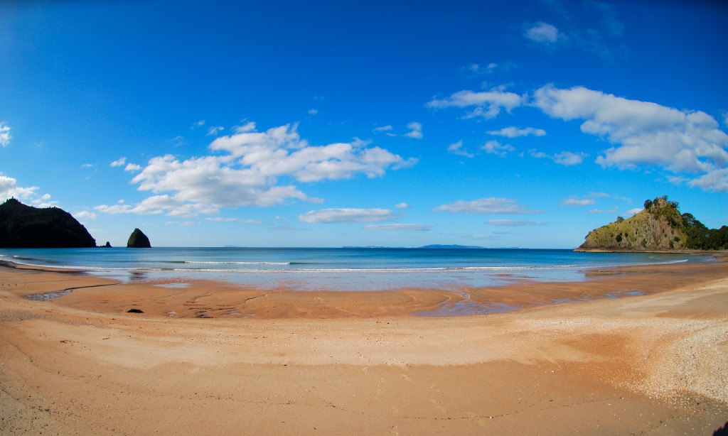 New Chums beach Whangapoua Waikato Via Bing