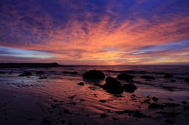 sunrise At Beach From Pixabay