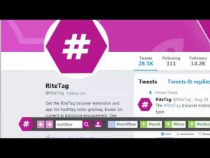 RiteTag Hashtag