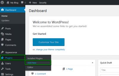 Add Plugins To WordPress