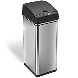 Touchfree Deodorizer Trash Can