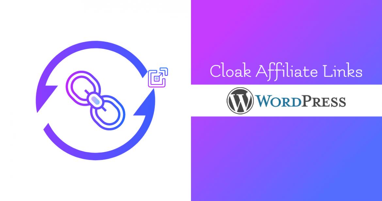 Cloak Affiliate Links