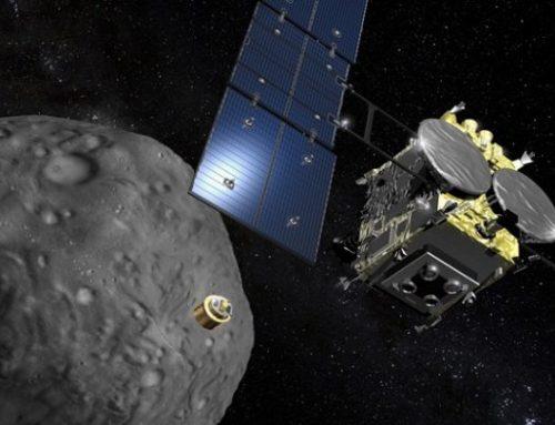 It's A Touchdown! Hayabusa2 Deploys 3 Rovers On Asteroid Ryugu!