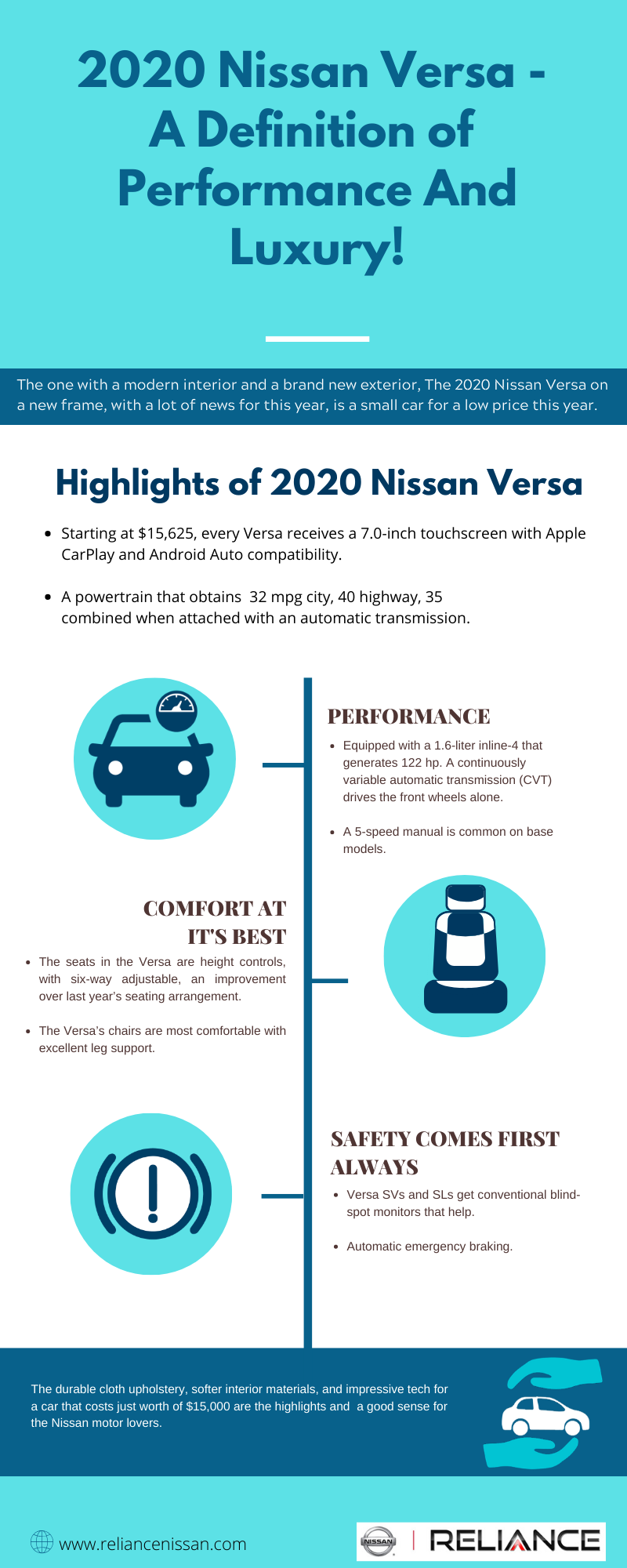 2020 Nissan Versa - Reliance Nissan of Alvin